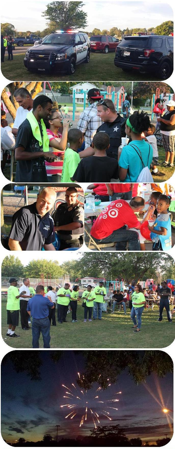 National Night Out - Event Pic Collage