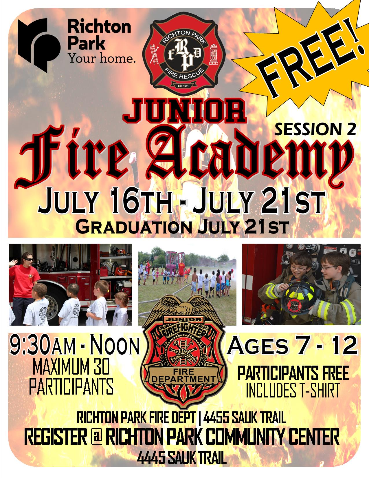 Jr.Fire Academy 2018 - Session 2