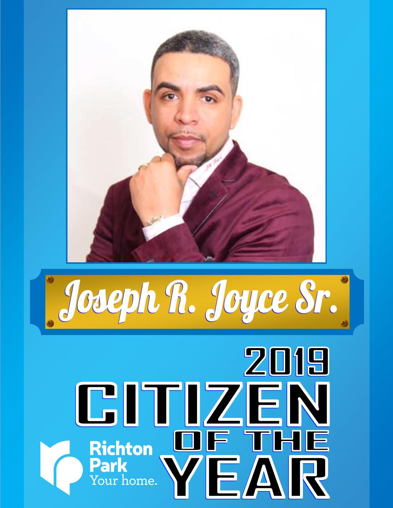 2019 Citizen if the Year - Joseph Joyce