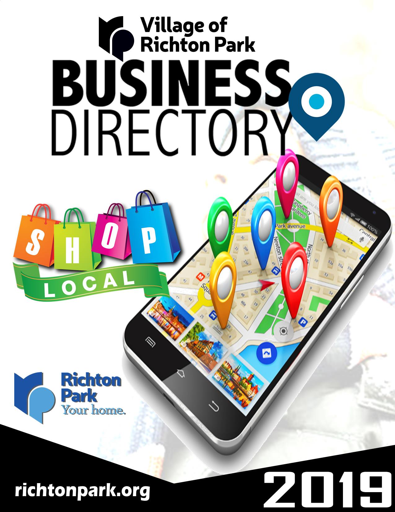 2019-2020 Business Directory Cover