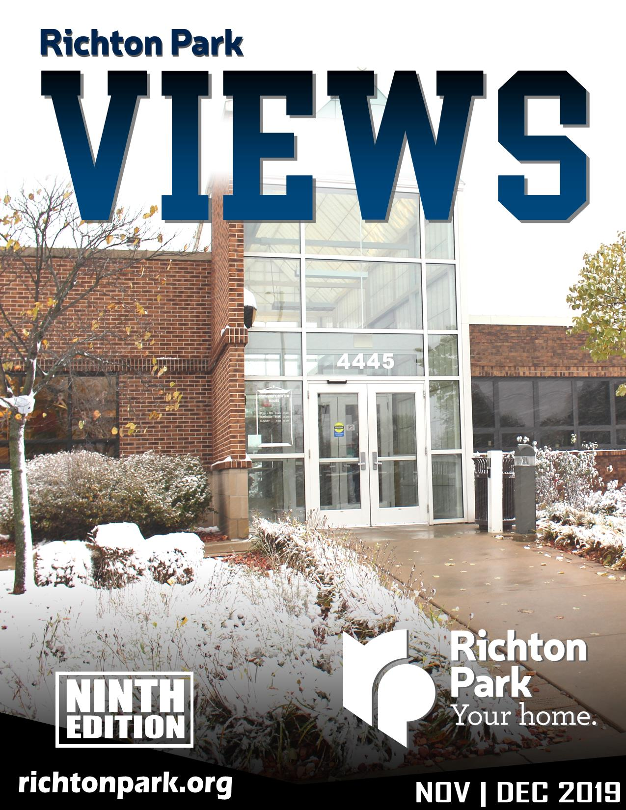 Richton Park VIEWS - 9th Issue Cover