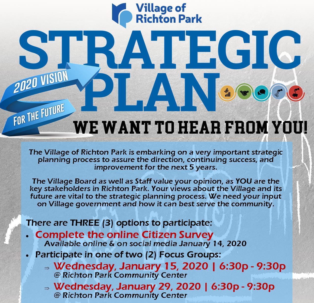 Strategic Planning 2020 - Citizen Participation Jan 2020 sq