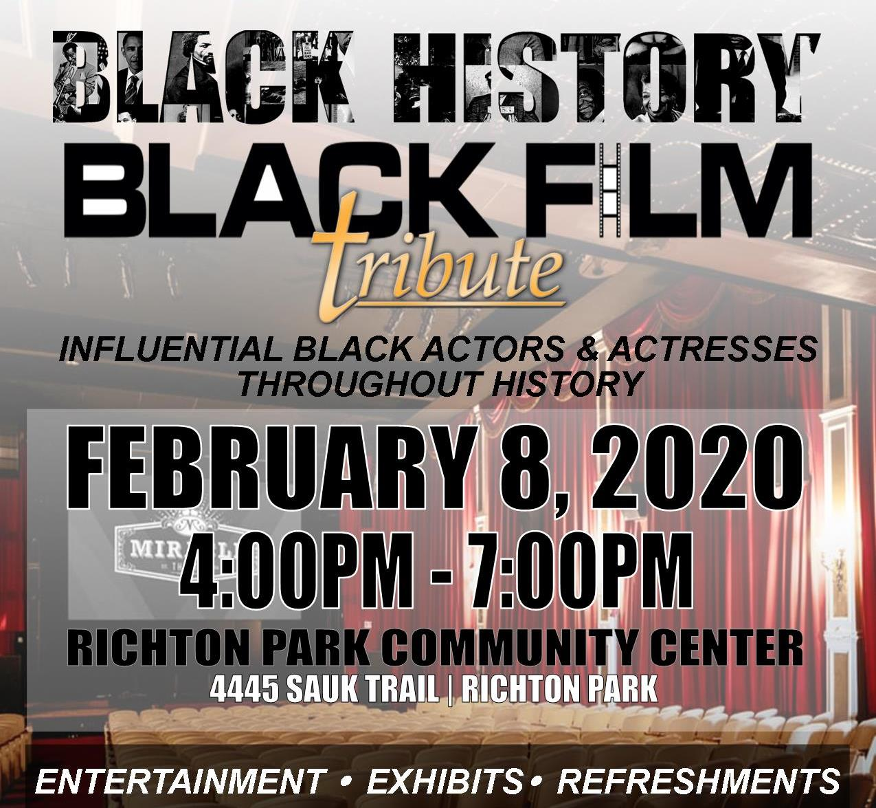 Black History Event 2020 sq