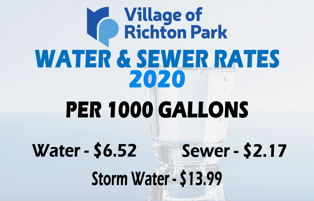 Water n Sewer Rates 2020 - 1K gallons